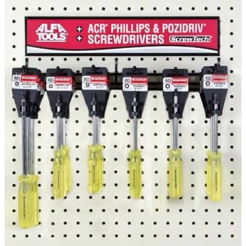 Alfa Tools #1 X 6-1/2 POZIDRIV SCREWDRIVER HANGER