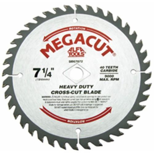 Alfa Tools 10 X60T HEAVY DUTY CROSS CUT CARBIDE TIPPED SAW BLADE