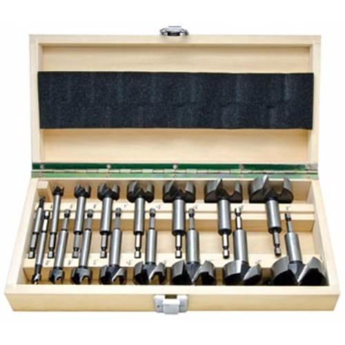 Alfa Tools 16PC 1/4 HEX SHANK FORSTNER BIT SET