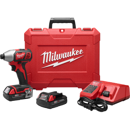"Milwaukee M18™ ¼"" HEX IMPACT DRIVER KIT"