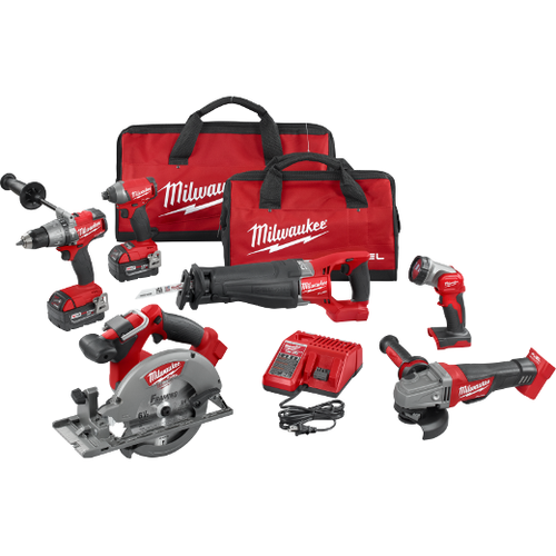 Milwaukee M18 FUEL™ 6-TOOL COMBO KIT