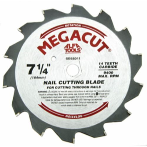 "Alfa Tools 10""X24T NAILCUT CARBIDE TIPPED SAW BLADE"