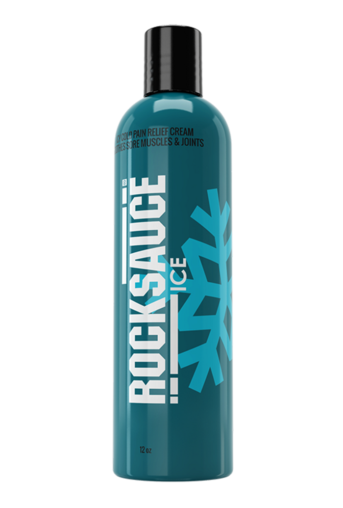 RockSauce Ice 12oz Disc Top - Pain Relieving Gel