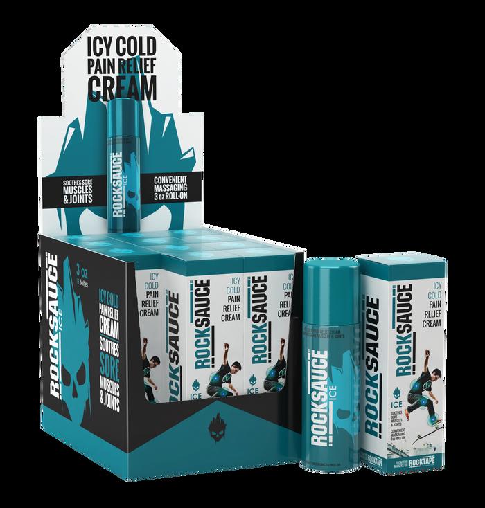 RockSauce Ice 12 Pack w/Merchandiser - For Retail