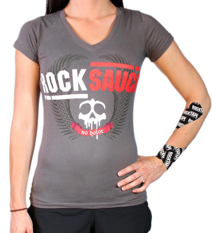 Women's V-Neck RockSauce Tee