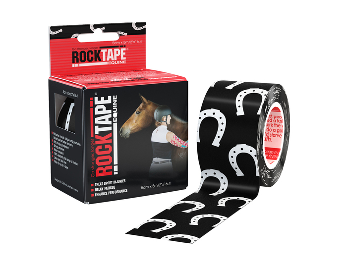 "2"" Equine Tape Horseshoe"