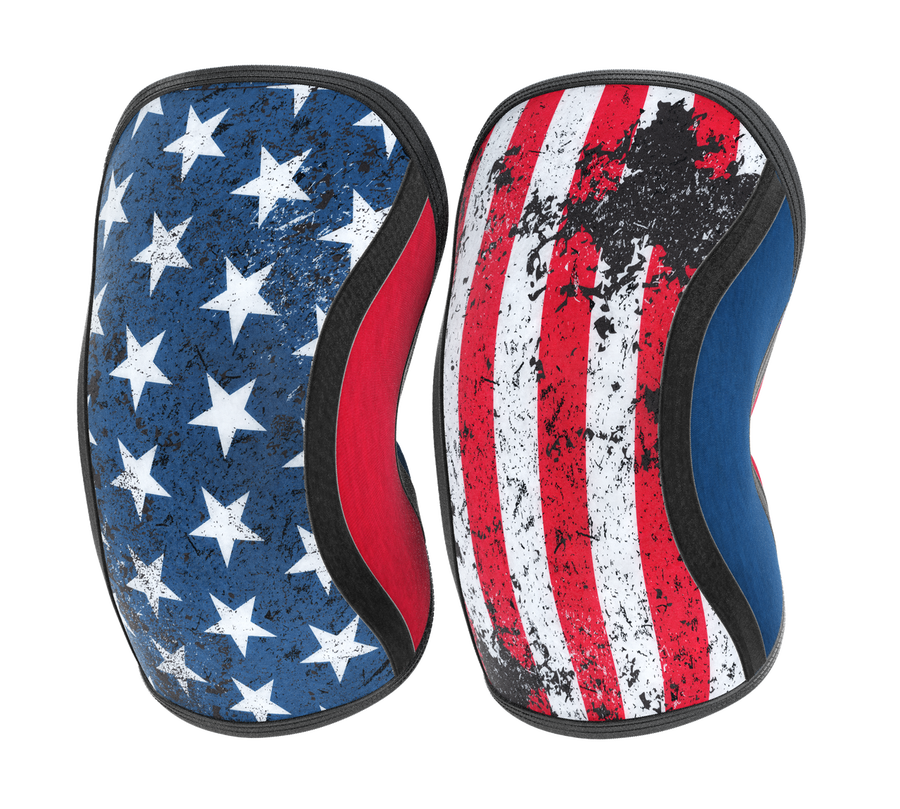 Assassins Knee Sleeves - Old Glory