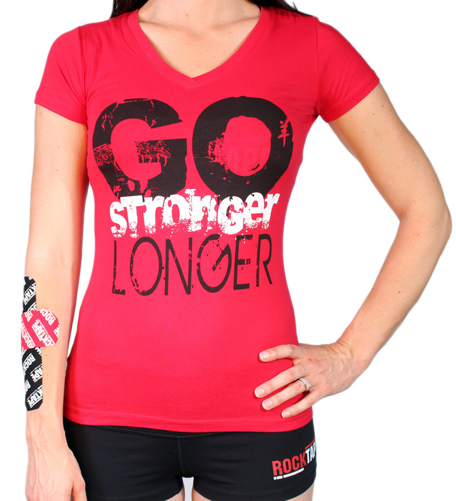 Women's V-Neck Go Stronger, Longer