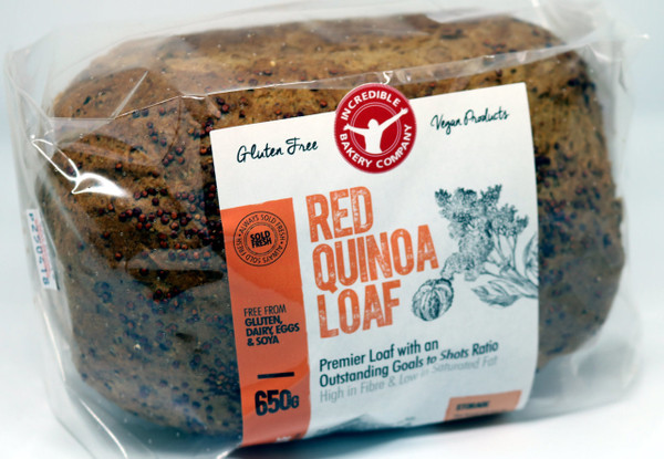 Incredible Red Quinoa Loaf