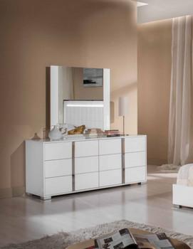 Modrest San Marino Modern White Dresser