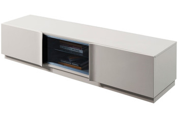 Modrest Lithium Modern Grey Gloss TV Stand