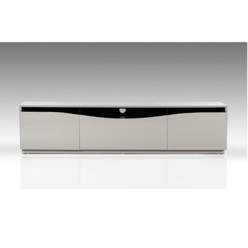 Modrest Darren - Modern Glossy Grey TV Unit