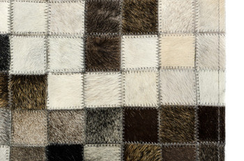 Modrest Palo by Linie Design Modern Cowhide Small Area Rug