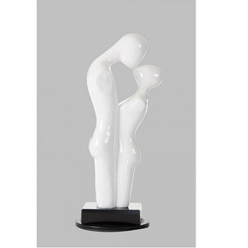 Modrest SZ0296 - Modern White Love Sculpture