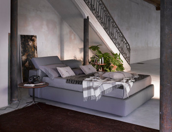 Tower Grey Storage Bed