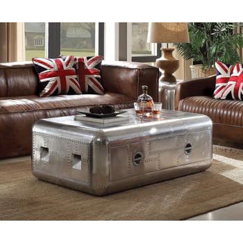 Brancaster Retro Aluminum Coffee Table