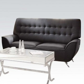 Omniel Black Sofa Set