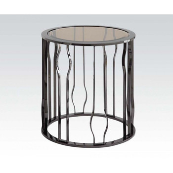 Alys Black End Table