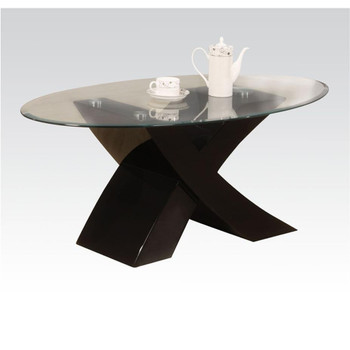 Pervis Black Coffee Table