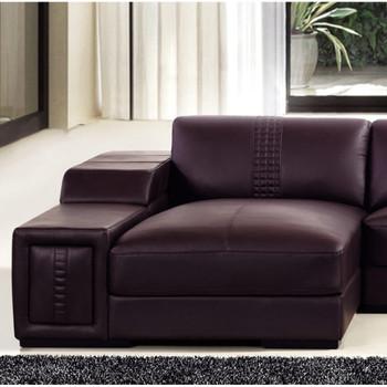 Divani Casa T132V - Modern Leather Sectional Sofa