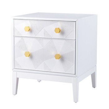 Mila Lacquer Side Table