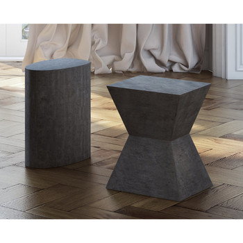 Everley Concrete Stool
