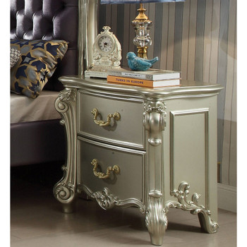 Vendome II Champagne Nightstand
