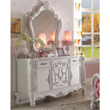 Versailles Antique White Dresser
