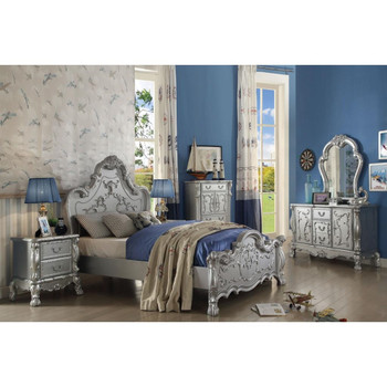 Dresden Silver Bedroom Set