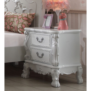 Dresden Antique White Nightstand