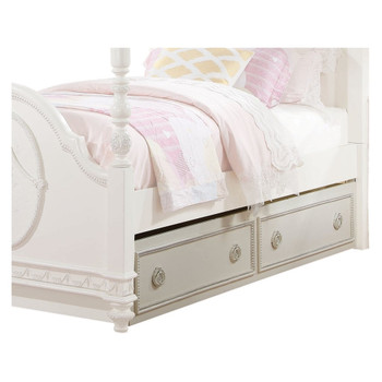 Dorothy Ivory Trundle Bed