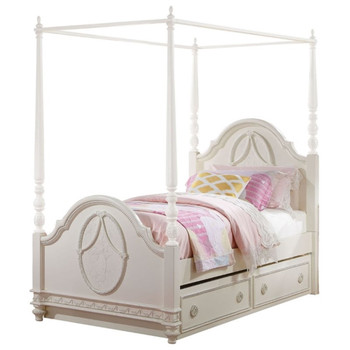 Dorothy Ivory Bed Canopy