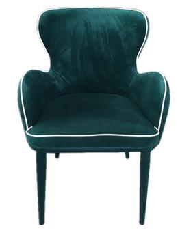 Modrest Tigard Modern Green Fabric Dining Chair