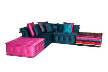 Versus Chloe - Modern Fabric Sectional Sofa