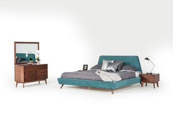 Modrest Lewis Mid-Century Modern Walnut Dresser