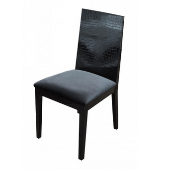 A&X Bridget Black Dining Chair SET OF 2