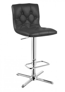 Modrest Mila Modern Black Bar Stool