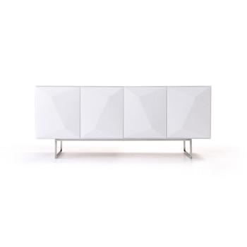 Modrest Vanguard - Modern White Buffet