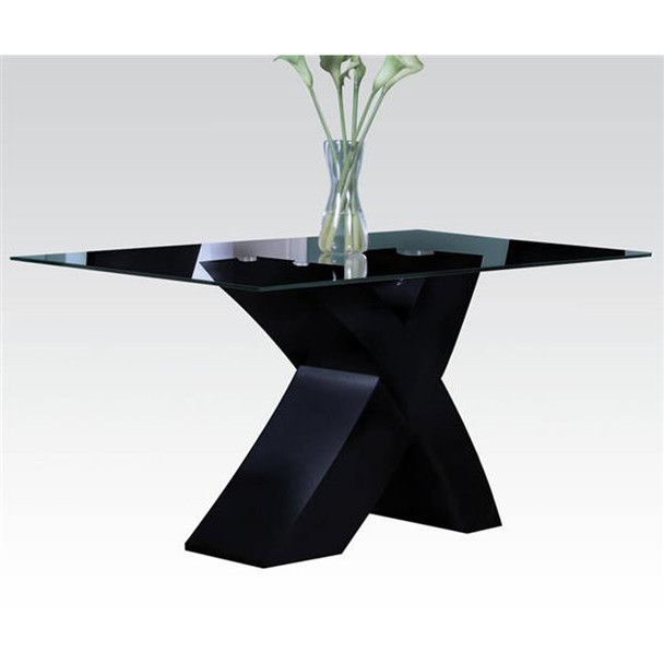 Pervis Black Dining Set