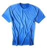 Men's Short Sleeves Crew Neck T-Shirt  Color Blue Lagoon / Garment Dyed  Sizes S - XXXL  60% Cotton / 40% Polyester  Looks great in combination with our Venice Beach 24021W-020 casual Shirt  http://www.georgrothlosangeles.com/venice-beach-24021w-020-long-sleeves-cotton-shirt/