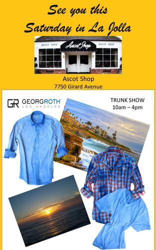 Trunkshow Ascot Shop La Jolla California