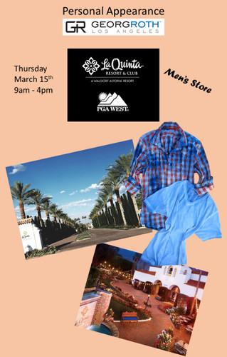 Personal Appearance - Georg Roth - La Quinta Resort & Club