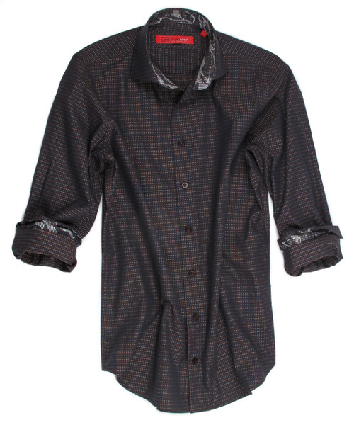 Georg Roth Men's 70020-020 Long Sleeves woven cotton Shirt
