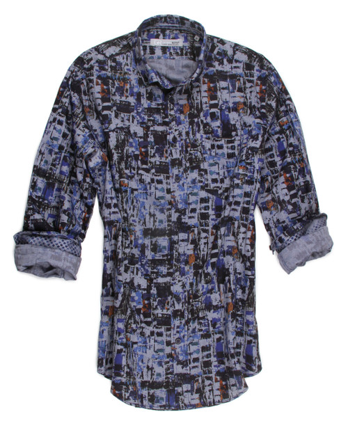 Barton Hills 16021-034 Long Sleeves Cotton Shirt