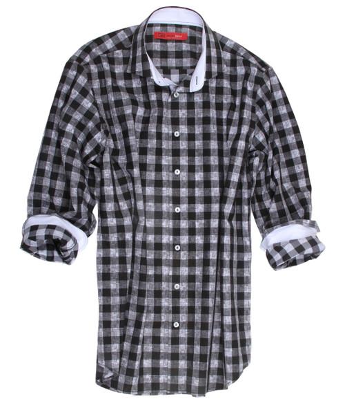 Banff-18025-020-Long-Sleeves Cotton Men's Shirt