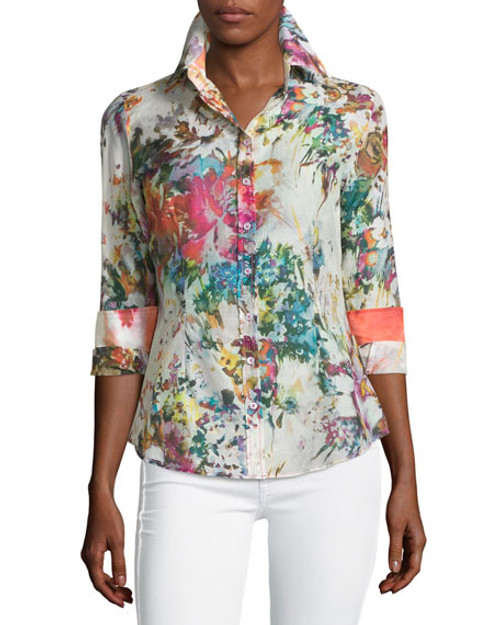 B12045B-700-Long Sleeves-Women's Plus Sizes
