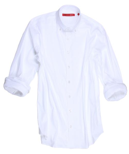 Bora Bora-9095-018-Long-Sleeves White Soft stretch
