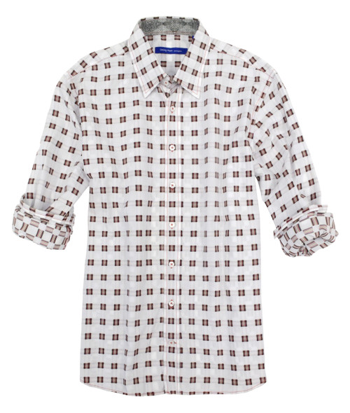 Georg Roth Men's 14023-023A Long Sleeves-Cotton-Mens-Shirt