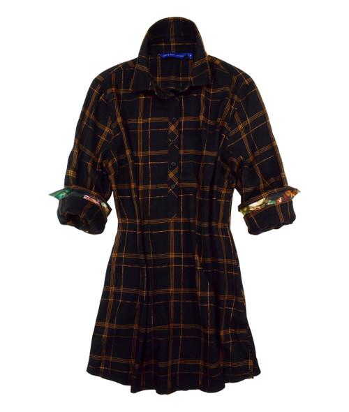 Cass B22013-703 Tunic Long Sleeves-Plus-sizes