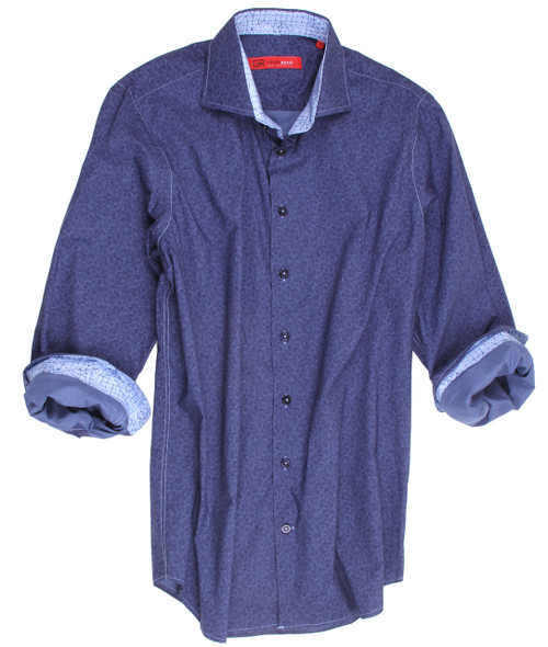 Anaheim-21039-020-Long-Sleeves Cotton Men Shirt